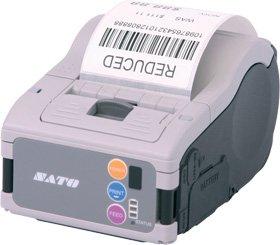 SATO wwmb13080Drucker inkl. Akku mit LCD