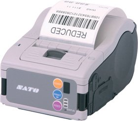 SATO wwmb13080 printer incl. accu met LCD