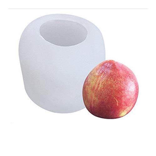 Lange Avocado-Silikon-Form for Kerze Praline-Mousse-Kuchen-Backen-Form handgemachte DIY Seifenherstellung Mold Dauerhaft (Color : Light Green)