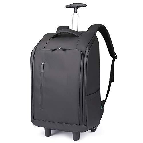 AI-ML 20''Rugzak, Cabin Trolley Rugzak Handbagage, 56 * 34 * 22CM, Zwart