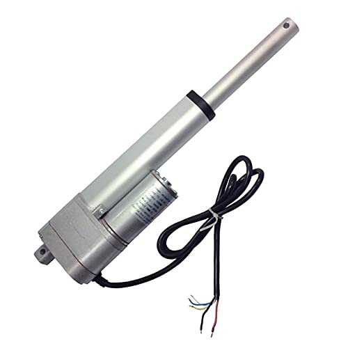 Argerrant 1pc LDHS DC 12V Motor eléctrico Actuador Lineal 24V 450-900N 50-300mm...
