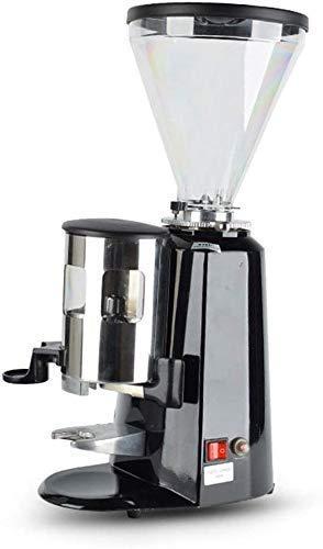 SXXYTCWL Amoladora de café de Escritorio para el hogar Comercial Rojo Negro Café Grano de Cacao Molino de Molino Máquina de rectificado Máquina de fresado jianyou