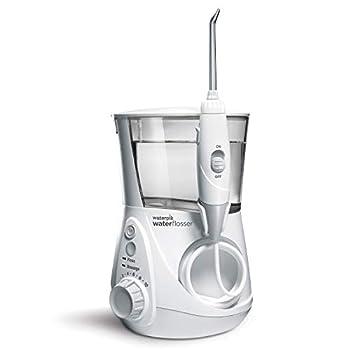 Waterpik WP-660 Water Flosser Electric Dental Countertop Professional Oral Irrigator For Teeth Aquarius White