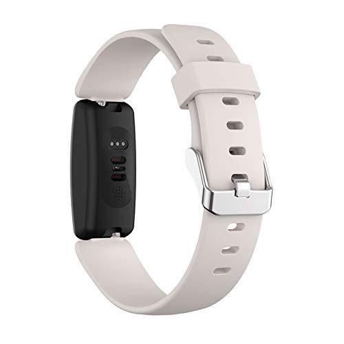 GYY Soft Silicone Sports Reemplazo De Reloj Correa De La Banda para Inspirar 2 Accesorios De Moda De Reloj Inteligente (Color : F, Size : S)