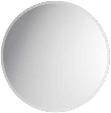 THE MIRROR/Frameless Decorative Wall Mirror/Round Mirror | Mirror Glass for Wall | Mirror for bathrooms | Mirror in Home | Mi