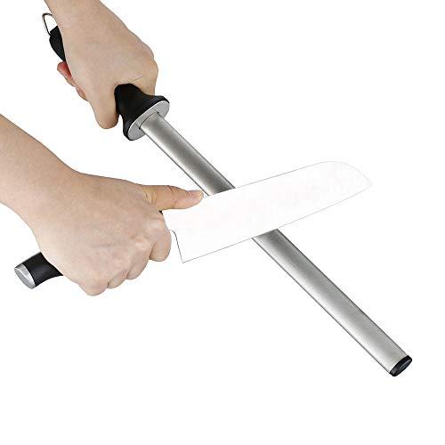 TAIDEA Wasser 20,32 cm/25,4 cm/30,48 cm Diamant Messerschärfer Stick, geeignet für Küchenmesser, Obstmesser, Ausbeinmesser Schärfen, plastik, 25,4 cm