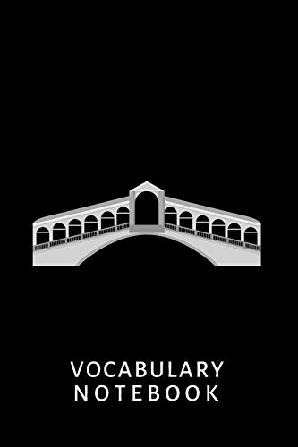 """Vocabulary Notebook: Italian, 6""""x 9"""", 2500 words, 110 pages, 2 columns, lines, learn to speak a lang"""