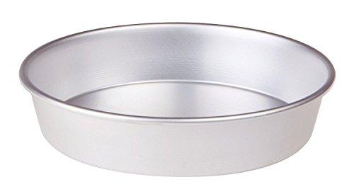 Pentole Agnelli FAMA43/626, Tortiera Conica con Orlo, Alluminio, 26 X 26 X 6 cm