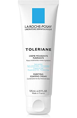 La Roche-Posay Toleriane Purifying Foaming Cream Cleanser, 4.22 Fl oz.