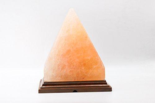Himalayan Salt Lamp / Salt Lamp / Rock Salt Lamp - Pyramid...