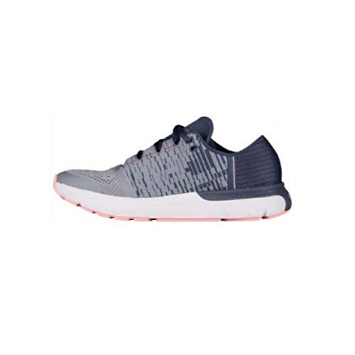 Under Armour Women's Speedform Gemini 3 Graphic Running Shoe, Steel (035)/Apollo Gray, 5.5