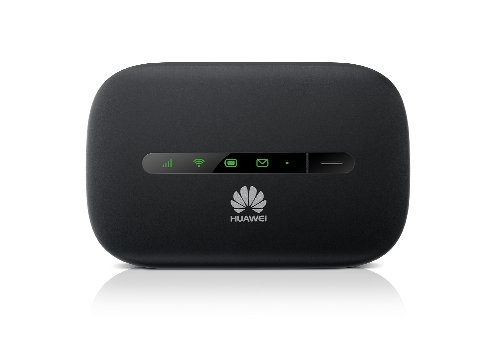 HUAWEI E5330 3G Mobile Hotspot /Portable 3G WiFi Router, Downstream 21.6Mbit/s, 10 Clienti, 5 Secondi di Boot Rapido, colore: Nero [Regno Unito]