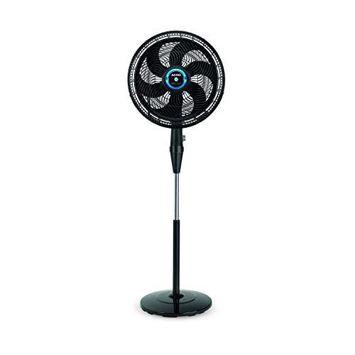 Ventilador Silence Force Arno Repelente Líquido Coluna Preto 110V