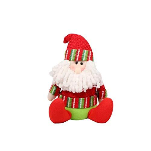 Besthuer Décorations De Noël Père Noël - Décorations d'arbres de Noël pour Cadeau de Noël Enfants Famille Amis De Noël