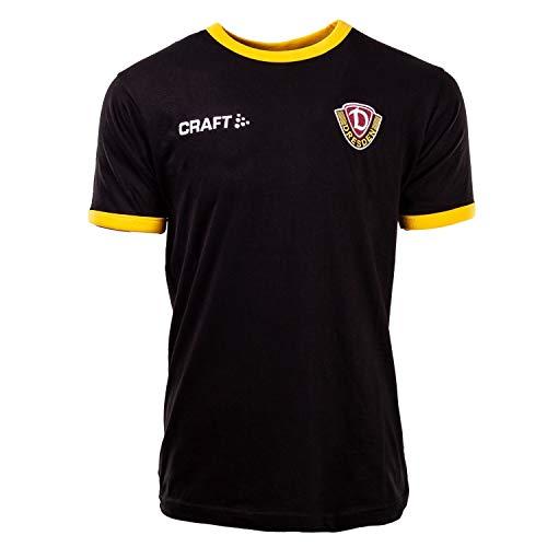 SG Dynamo Dresden Craft Freizeitshirt 2019/20 schwarz, Größe:XL
