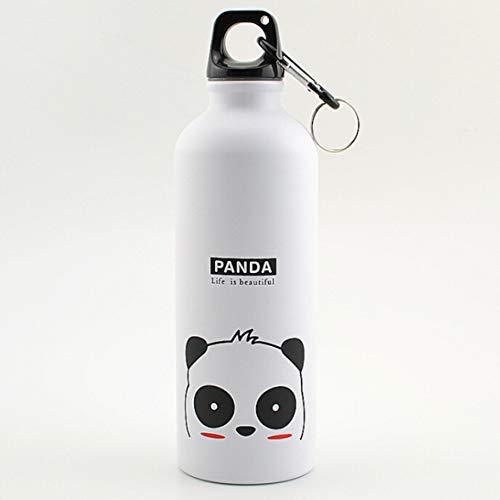 XINGSd Nieuwe Uitgegeven Kids Waterfles Aluminium Fles Leuke Dier voor Koffie Thee Drink Fles Sport Fles met Karabijnhaak