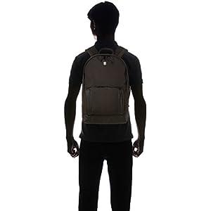31BgH3pJvAL. SS300  - Victorinox Classic Laptop Backpack Poliéster Negro Mochila - Mochila para portátiles y netbooks (Poliéster, Negro…