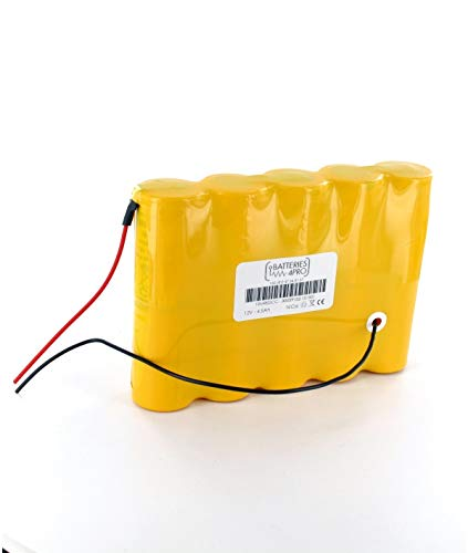 Batería interna 12 V 4,5 Ah para cortacésped Lister Showman