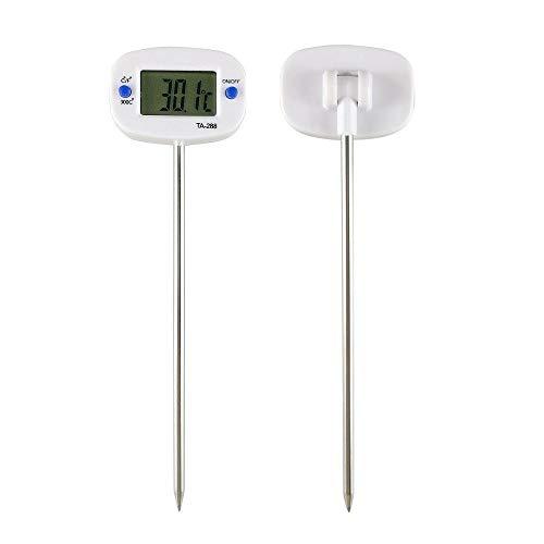 Termómetro de la parrilla de la cocina Cocina Digital sonda de acero inoxidable de aceite de agua de la leche termómetro de carne cocinar termómetro herramienta de cocina for la comida a la parrilla (