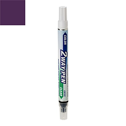 ColorRite Pen for Mazda Mazda3 Automotive Touch-up Paint - Phantom Purple Clearcoat 34N - Color+Clearcoat Package