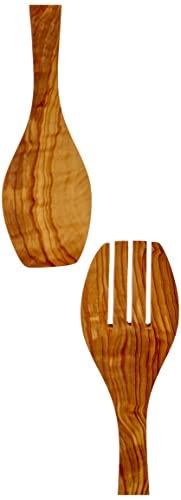 Metaltex 580630010 Couverts à salade Bois d'olivier 30 cm