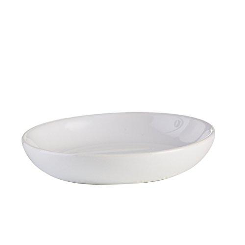 Axentia Leander portasapone, Ceramica, Bianco, ca. 10,5 x 10,5 x 2 cm