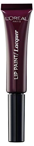 L'Oréal Paris Infallibile Lip Paint Vampies Rossetto Liquido Effetto Lacca, 110 Little Wine