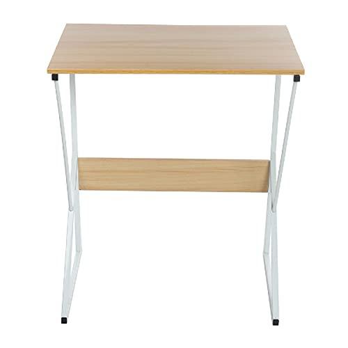 Lzcaure Ordenador de escritorio de ordenador portátil Escritura mesa de estudio escritorio estación de trabajo para el hogar oficina dormitorio