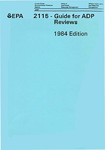 220R84002C  2115 - Guide for ADP Reviews 1984 Edition (English Edition)