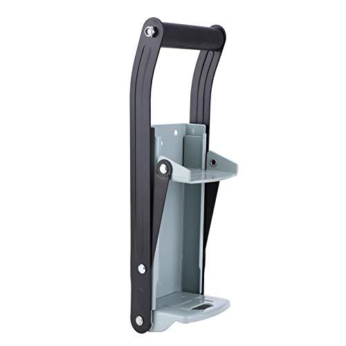 LANTRO JS - Trituradora de latas de hierro de 12 onzas Trituradora de botellas de alta resistencia Herramienta de mano de hardware industrial para reciclar botellas
