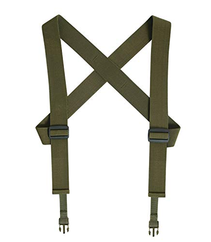 Rothco Combat Suspenders, Olive Drab
