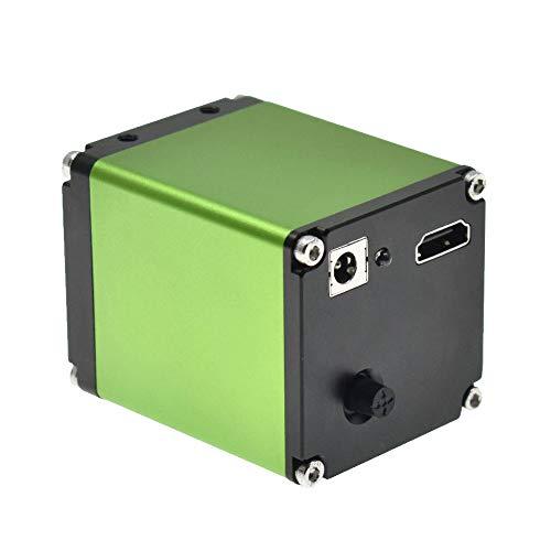 /G Cámara de microscopio de Video Digital HD 1080P 1/2 Pulgadas HDMI Lupa óptica reparación de Placa Base de teléfono detección de Metales