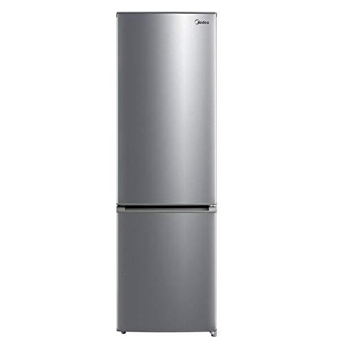 Midea MERB276FGE02 Frigorifero combinato 270 L, frigorifero a risparmio energetico, total no frost, termostato regolabile, colore Inox