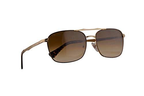 Persol 2454-S Zonnebril Goud Havana w/Clear Gradient Brown Lens 60mm 107551 PO 2454S PO2454S PO2454-S