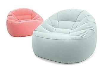 INTEX Beanless Bag Chair Assortment Unisex-Adult, Multicolor, Taille Unique