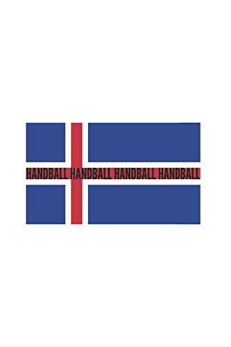Norway Norge National Flag Handball: Sport and Countries Notebook 120 pages graph paper