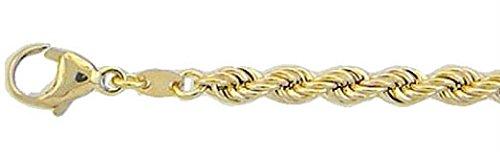 Gold Halskette Collier 8 k 333 Gelbgold Kordelkette 42 cm
