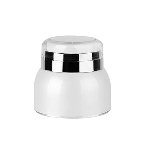 Qinlee Acryl Emulsionsflasche Cremeflasche Reisen Tragbare Cremedose Nachfüllbare Essenzen Gesichtsreiniger Duschgel Perfekt für Home
