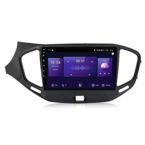 KLL Radio de Coche de Pantalla táctil HD para Benz Smart 2006-2009 estéreo Doble DIN 1080P Reproductor MP5 de Coche Controles del Volante Built-in carplay Enlace Espejo(Cámara Trasera)