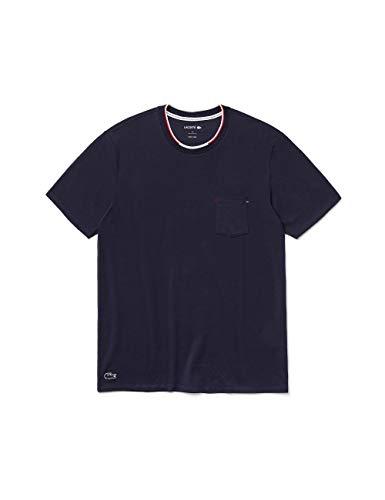Lacoste Herren TH3449 Pyjama-Tops, Marine, M