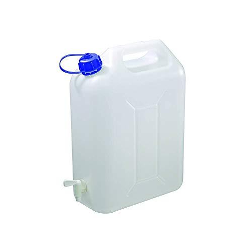 Preisvergleich Produktbild 4x 10 Liter Wasserkanister Wassertank Wasserbehälter stabiler Kanister mit Hahn für Camping und Urlaub
