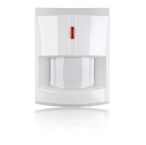 Blaupunkt Funk-Bewegungsmelder IR-S4 - Infrarot-Sensor - Zubehör für Alarmanlagen der SA- und Q-Serie - Wand- und Eckmontage, Erfassungsbereich 12m bei 110° - Weiß