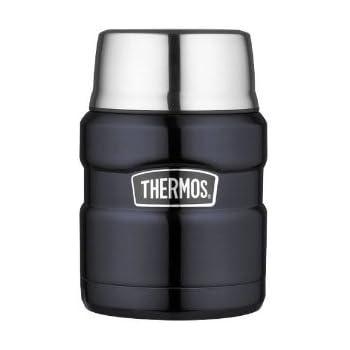 Thermos サーモス ステンレスキング・ミッドナイトブルー・フードジャー(0.45L) 保温性抜群 並行輸入品