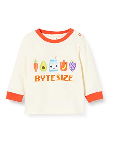 Lucy & Sam Unisex Baby T - Shirt Byte Size Long Sleeve Tee