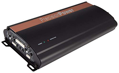 PRECISION POWER - iON Series i640.5 Class D 5-Channel 670W Full Range Digital Stereo and Bridgeable Amplifier with MOSFET Power Supply