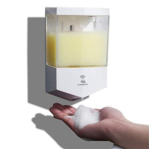 Dispenser Gel Disinfettante Mani | Dispenser Sapone Automatico | Dispenser Igenizzante Mani | Erogatore Gel Disinfettante Mani 600ml Sensore Automatico Funziona con 4 Batterie AA Non Incluse