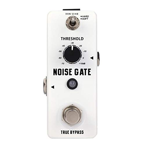 Reduction Effect Pedal Noise Gate Guitar Effect Pedal Metal Shell Stable and Durable,for Guitar Players,for Guitarist,or Most Guitar And Amplifier