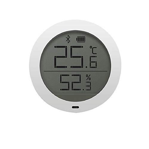 WPL Thermomètre Thermomètre Bluetooth thermomètre hygromètre Domestique en intérieur Haute précision du capteur Thermomètre hygromètre électronique Higrómetro