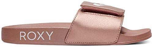 Roxy Damen Slippy Slide Badeschuhe, Pink (Rose Gold Rsg), 36 EU