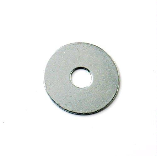 Bulk Hardware BH06124 Penny Repair Mudguard Fender Washer 19mm Dia. x 6mm Hole, Set of 100 Piece